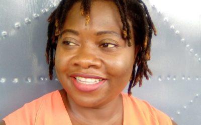 WELCOMING Mrs. Prudencia Asanga Cho