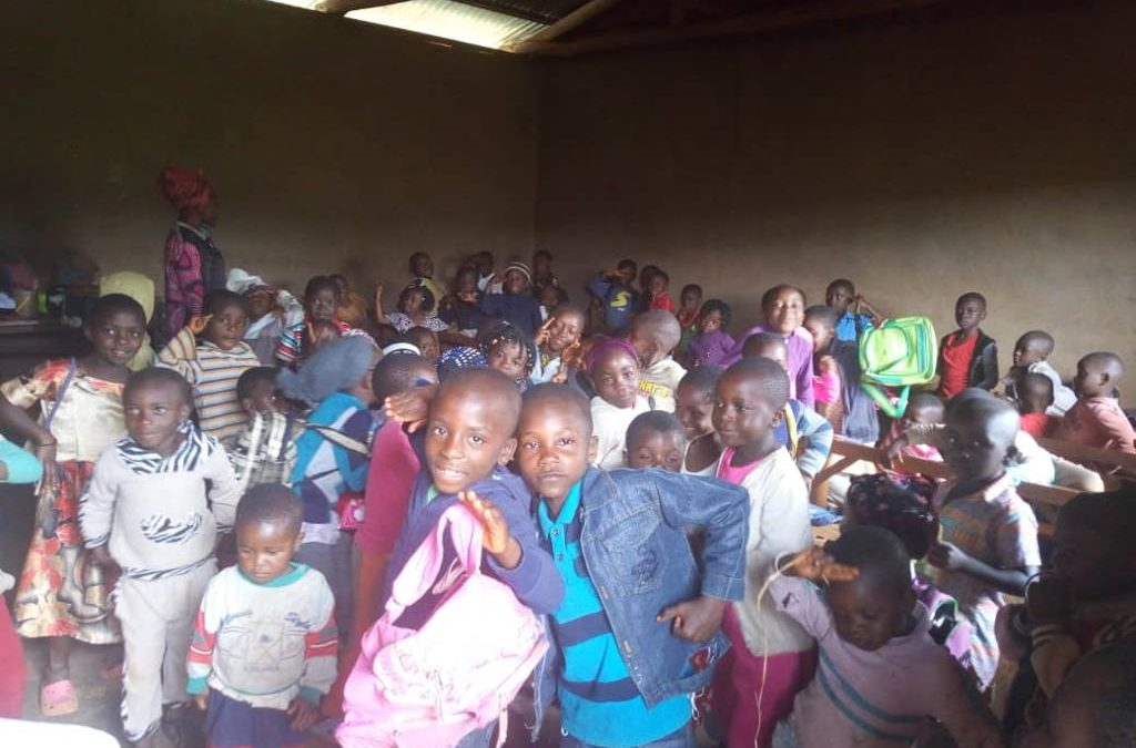 Internally displaced kids – victims of the Anglophone crisis