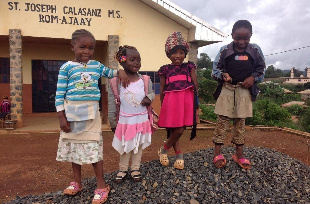 Children Affected by the Crisis in Kumbo, Cameroon